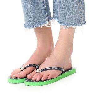 New Tory Burch Thin Flip Flops Size 6